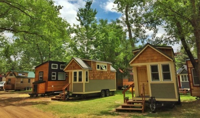 Oregon tiny house community
