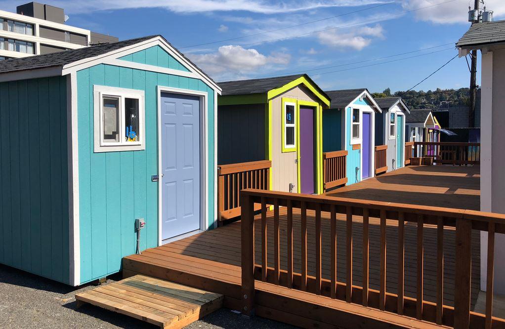 Tiny House Village Seattle