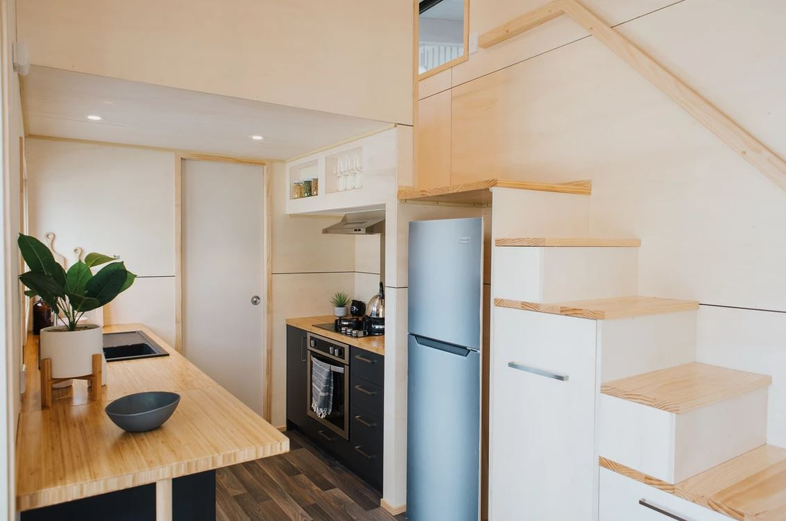 Tiny House staircase