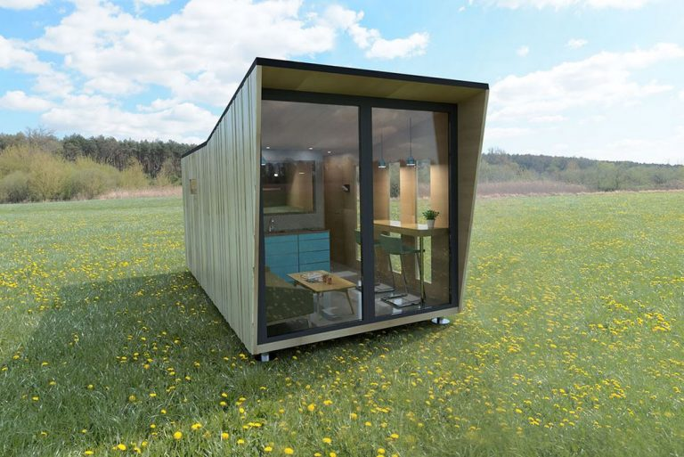 Minimalist tiny house