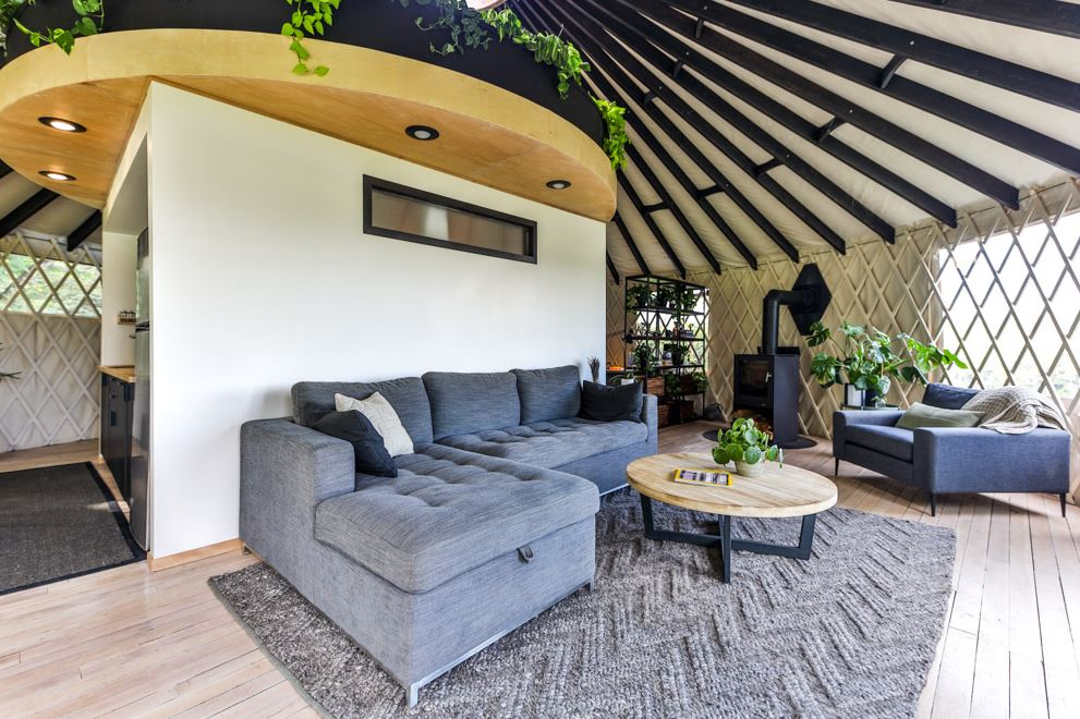 Types of Tiny Houses - yurt