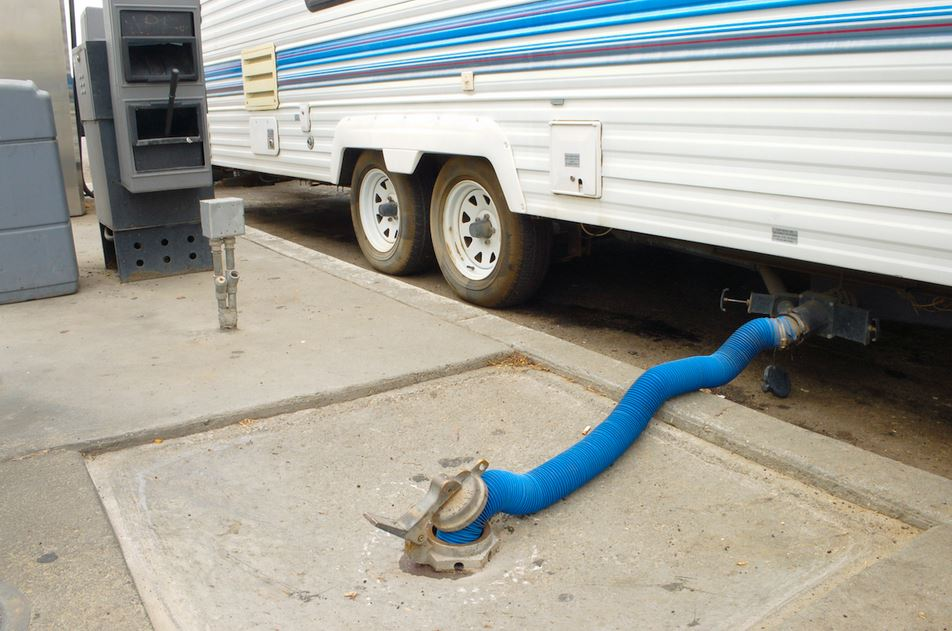 Where Does RV toilet poop go