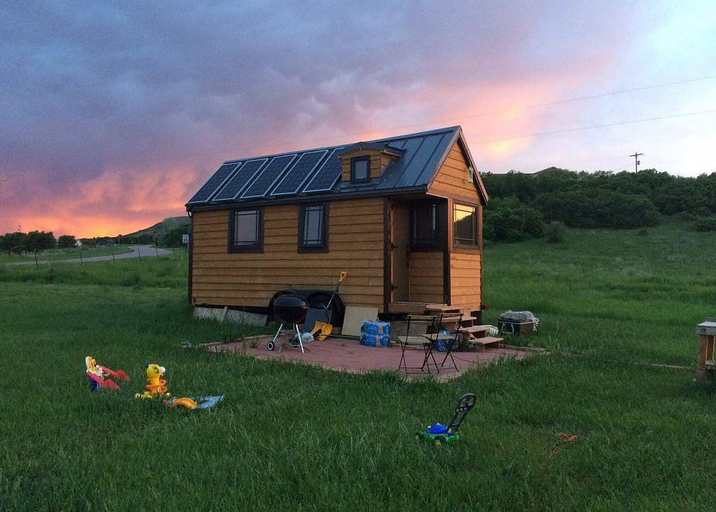 Can you rent land for a tiny house