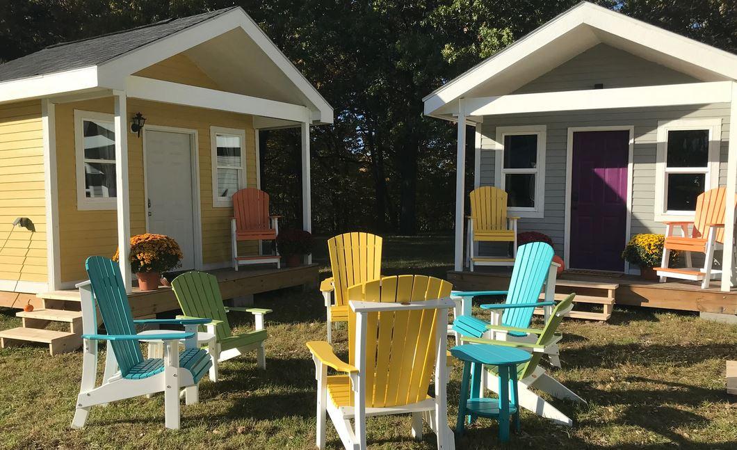 Des Moines Tiny Home Village