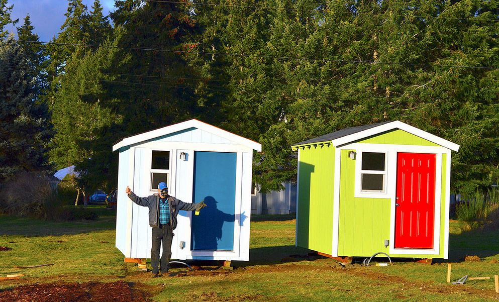 Port Townsend tiny home community