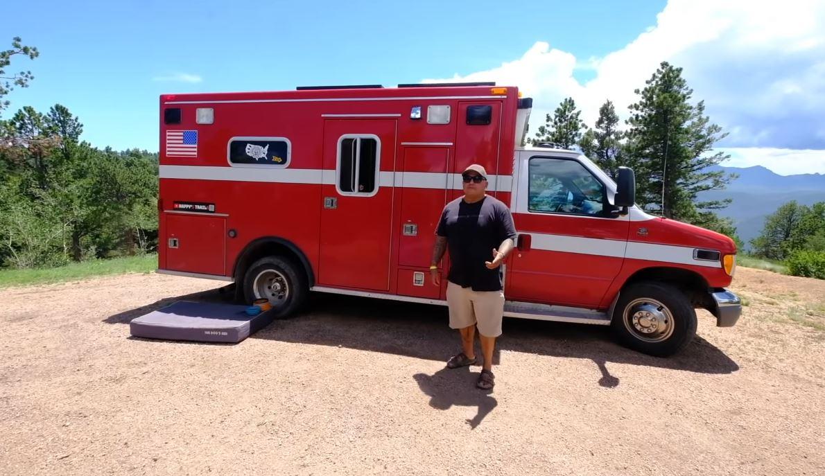 ambulance tiny house conversion