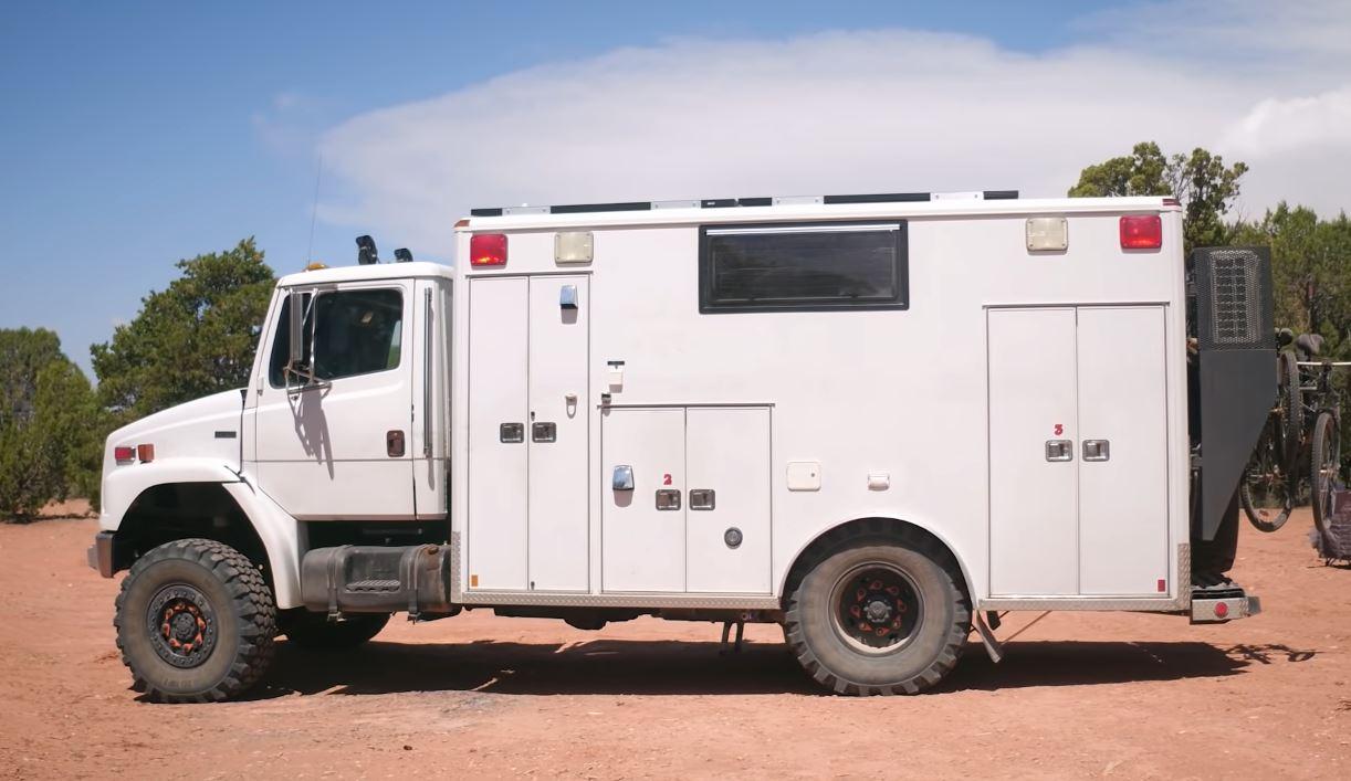 ambulance tiny house